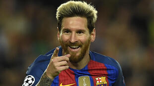 Lionel Messi, attaquant argentin du FC Barcelone.