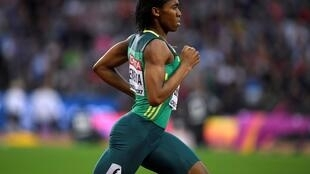 Caster Semenya took athletics' governing body to court over its plan to change the rules on women athletes with high testosterone levels.