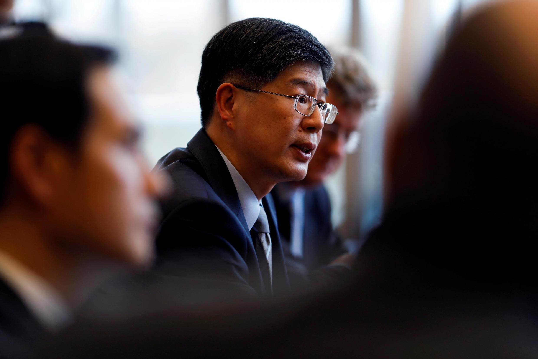 L'ambassadeur de Pékin à Ottawa, Cong Peiwu, le 22 novembre 2019.