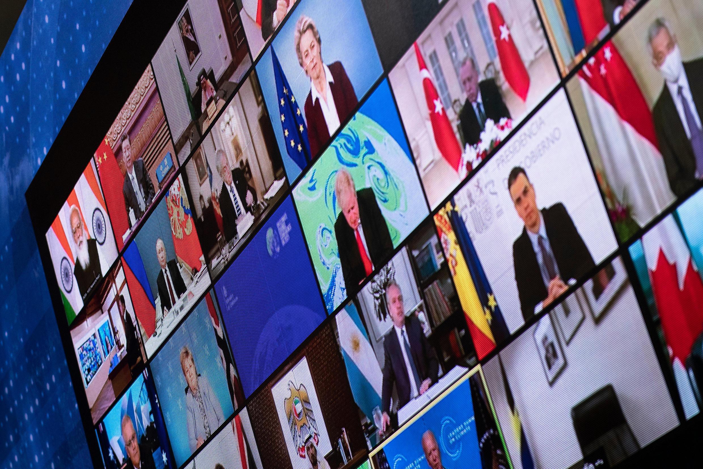 美國主辦的40國氣候視頻峰會2021年4月22-23日。