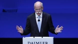Dieter Zetsche,  presidente de Daimler.
