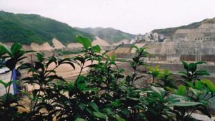 Khu vực đập thủy điện Cảnh Hồng, Trung Quốc