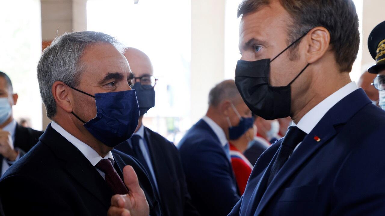 PHOTO Bertrand Macron - 14 septembre 2021