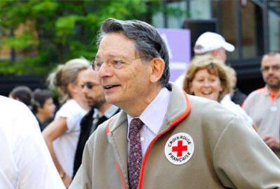 Jean-François Mattei, président de la Croix-Rouge française.