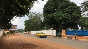 Scène de rue à Bangui (photo d'illustration), juin 2019.