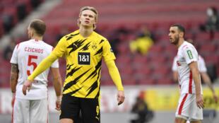 Dortmund striker Erling Braut Haaland