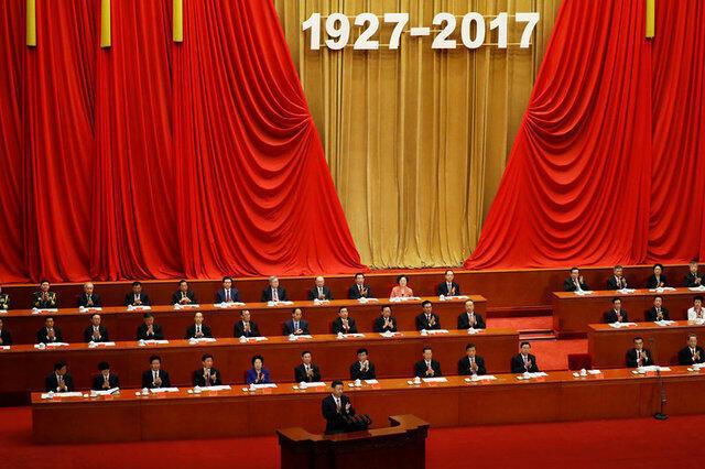Ông Tập Cận Bình phát biểu nhân ngày thành lập Quân Đội Trung Quốc, Bắc Kinh, 01/08/2017.