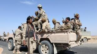 Tropas leales al gobierno yemenita  el 18 de diciembre pasado.
