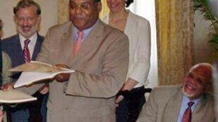 Le nouveau Premier ministre haïtien, Jean-Max Bellerive.
