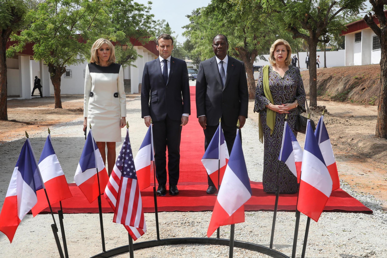 22 декабря Эмманюэль Макрон первым из французских президентов приехал в бывшую столицу ивуарийских повстанцев Буаке