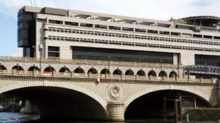Trụ sở Bộ Kinh tế và Tài chánh Pháp ở khu Bercy (Paris).