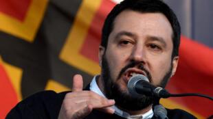 联盟党主席萨尔维尼 Matteo Salvini, 2018 2 28
