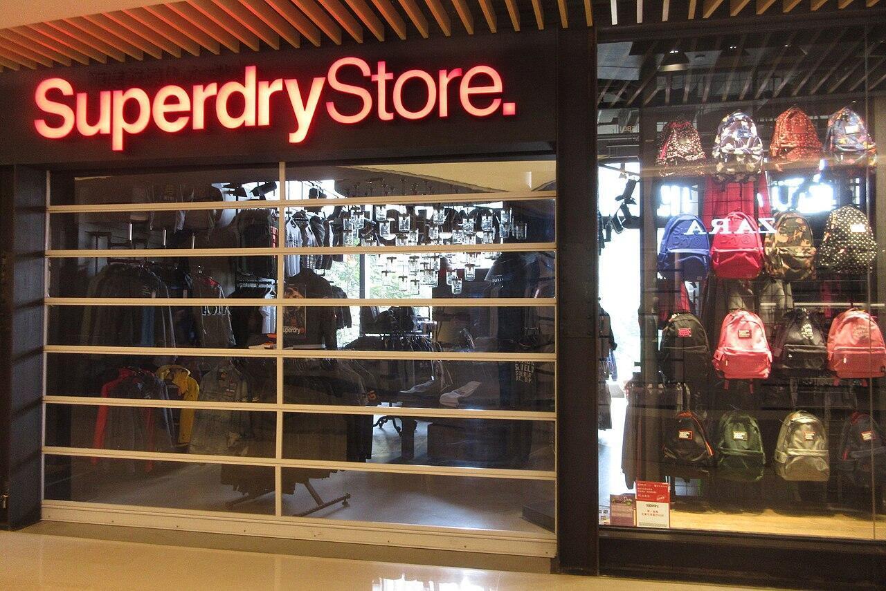 Магазин английской марки прет-о-порте Superdry
