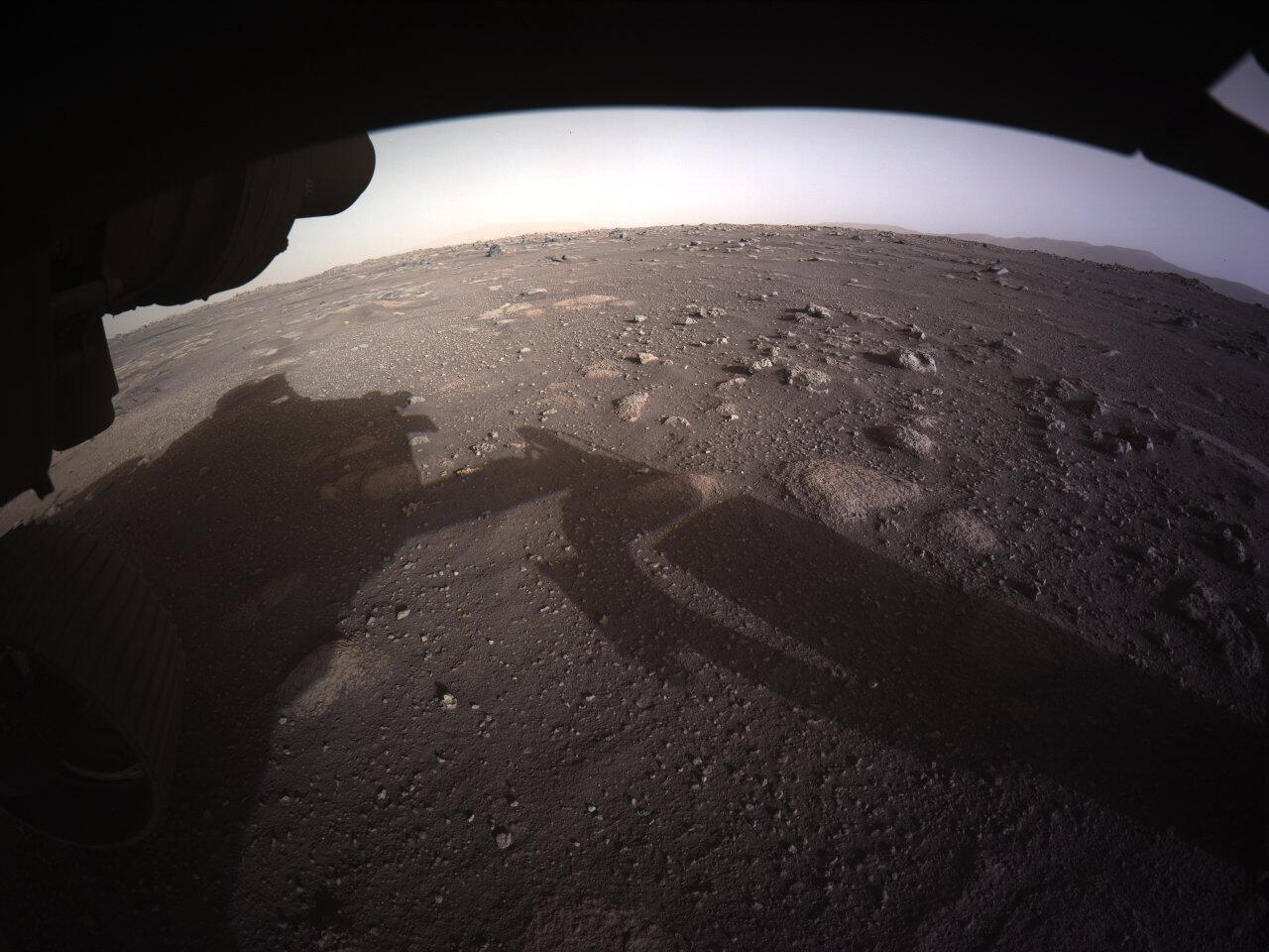 2021-02-20 space mars nasa perseverance rover first images