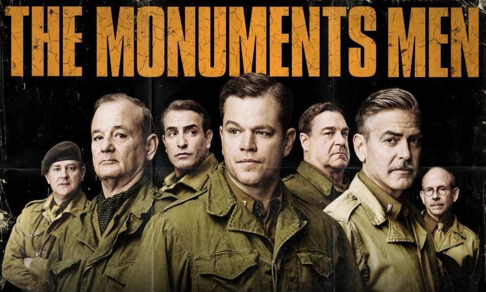 The poster for The Monuments Men