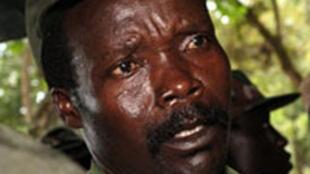 Joseph Kony, leader du LRA, l'Armée de Résistance du seigneur.