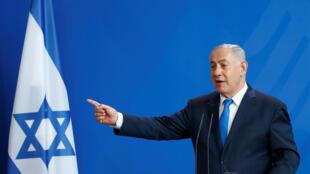 Fira Ministan Isra'ila Benyamin Netanyahu a birnin Berlin na Jamus