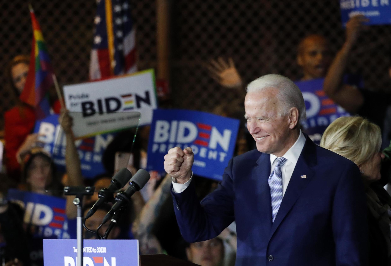 Joe Biden tại cuộc vận động tranh cử tại Los Angeles, California, Hoa Kỳ, ngày 03/03/2020