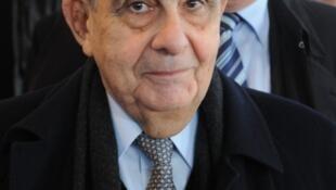 Pierre Fabre, fondateur des laboratoires du même nom, ici en novembre 2008.