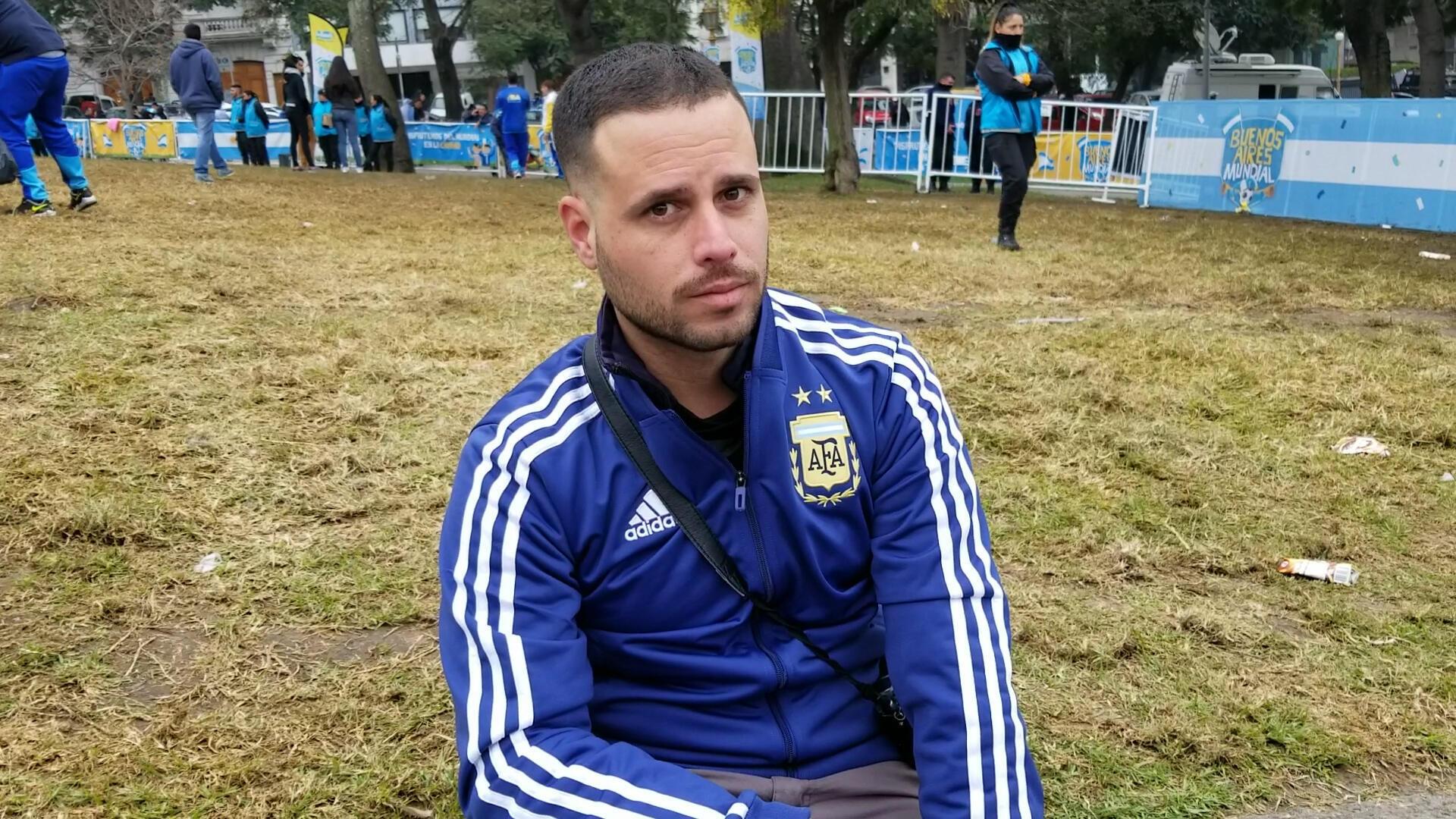 Após derrota da Argentina, Agustín Piluso torce agora pelo Brasil.