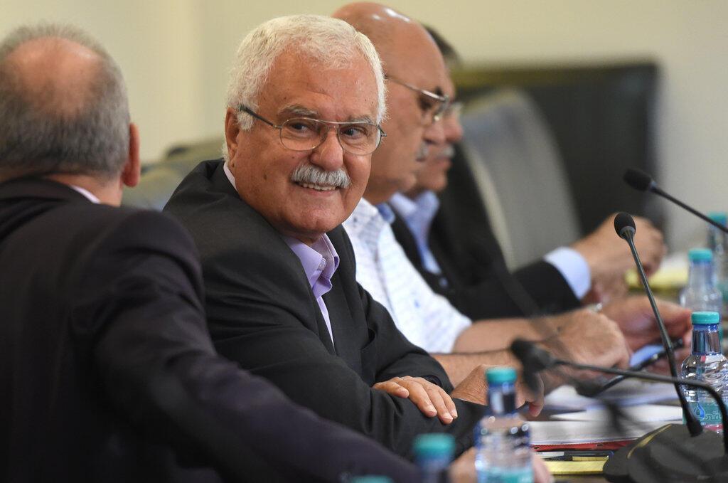 L'opposant syrien Georges Sabra, en août 2017 à Riyad, en Arabie saoudite.