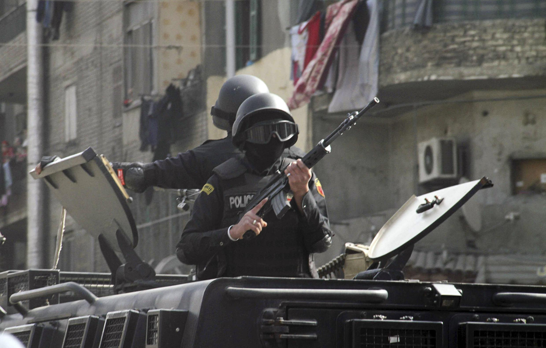 Cảnh sát Ai Cập thẳng tay trấn áp cuộc biểu tình chống chính phủ tại Mataryya, phía đông Cairo, ngày 25/01/2015