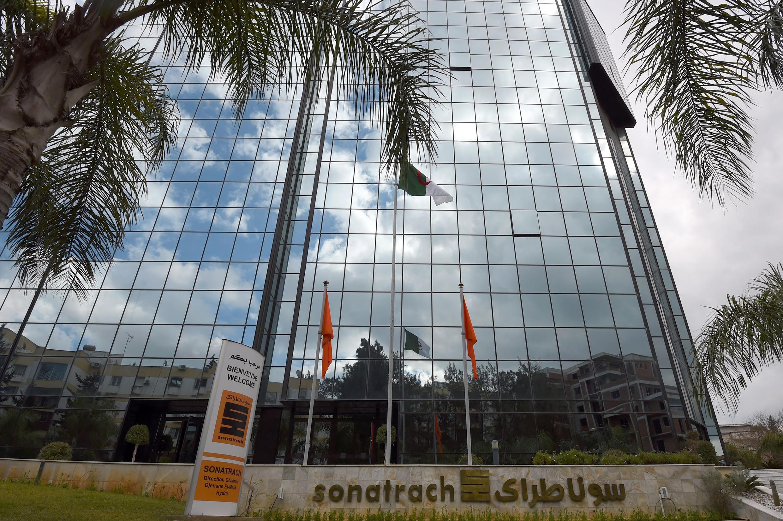 Le siège social du géant pétrolier algérien Sonatrach, à Alger, le 8 février 2015.