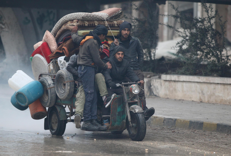 Alep, 7 décembre 2016.