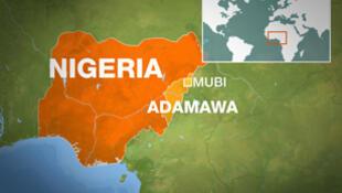 Nigeria está situada en la costa atlántica africana