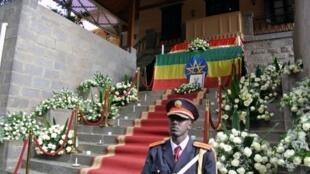 L'Ethiopie organise des funérailles nationales à Meles Zenawi, Addis-Abeba, le 02 septembre 2012.