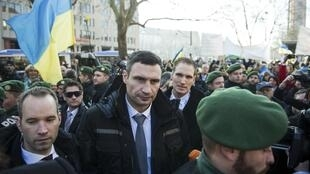 Lãnh đạo đối lập Ukraina Vitali Klitschko tại Munich, Đức, ngày 01/02/2014