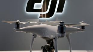 中國大疆創新無人機資料圖片
