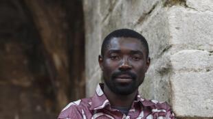 Dieudonné Niangouna, acteur congolais et artiste associé au 67e Festival d'Avignon.