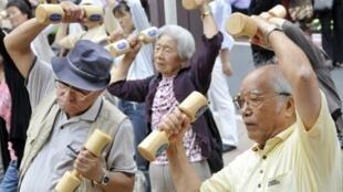 La société japonaise est de plus en plus vieillissante.