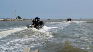 Камерунские силы быстрого реагирования на операции против пиратов, 2009 г.