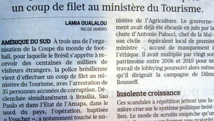 Reportagem sobre corrupção no Brasil é destaque do jornal francês Le Figaro desta quinta-feira 11 de agosto.