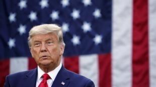 L'actuel président des États-Unis, Donald Trump.