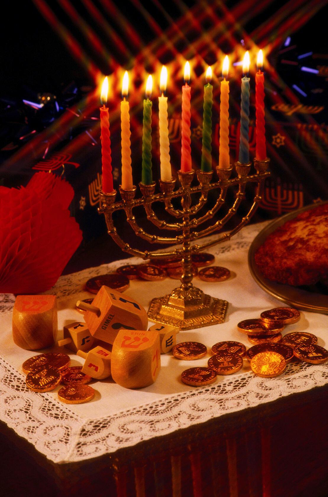 Menorah for Hanukkah