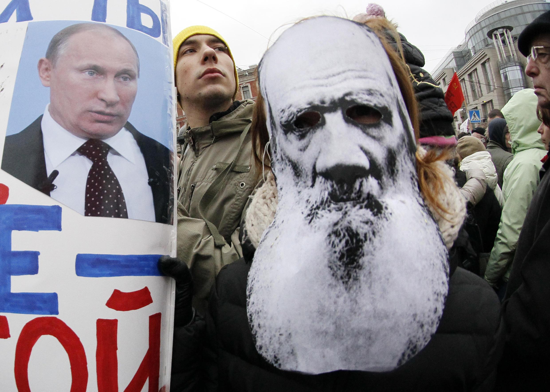 Акция за честные выборы. Санкт-Петербург, 18 декабря 2011.