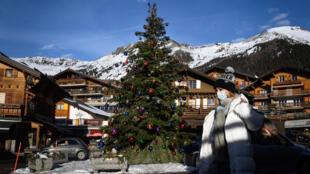 La estación de esquí de Verbier, en Suiza, el 22 de diciembre de 2020