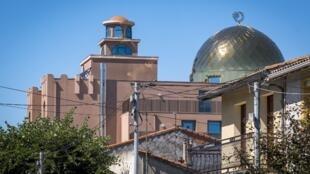 Une vue de la Grande mosquée de Toulouse en juin 2018.