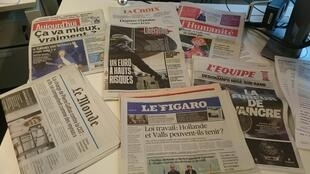 Diários franceses 30.05.2016