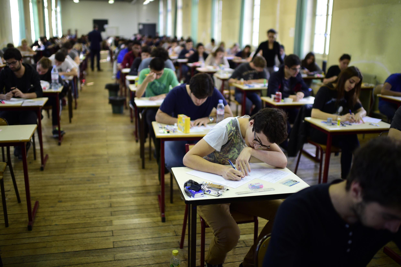 Учащиеся французской старшей школы