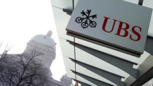 UBS, une banque suisse.