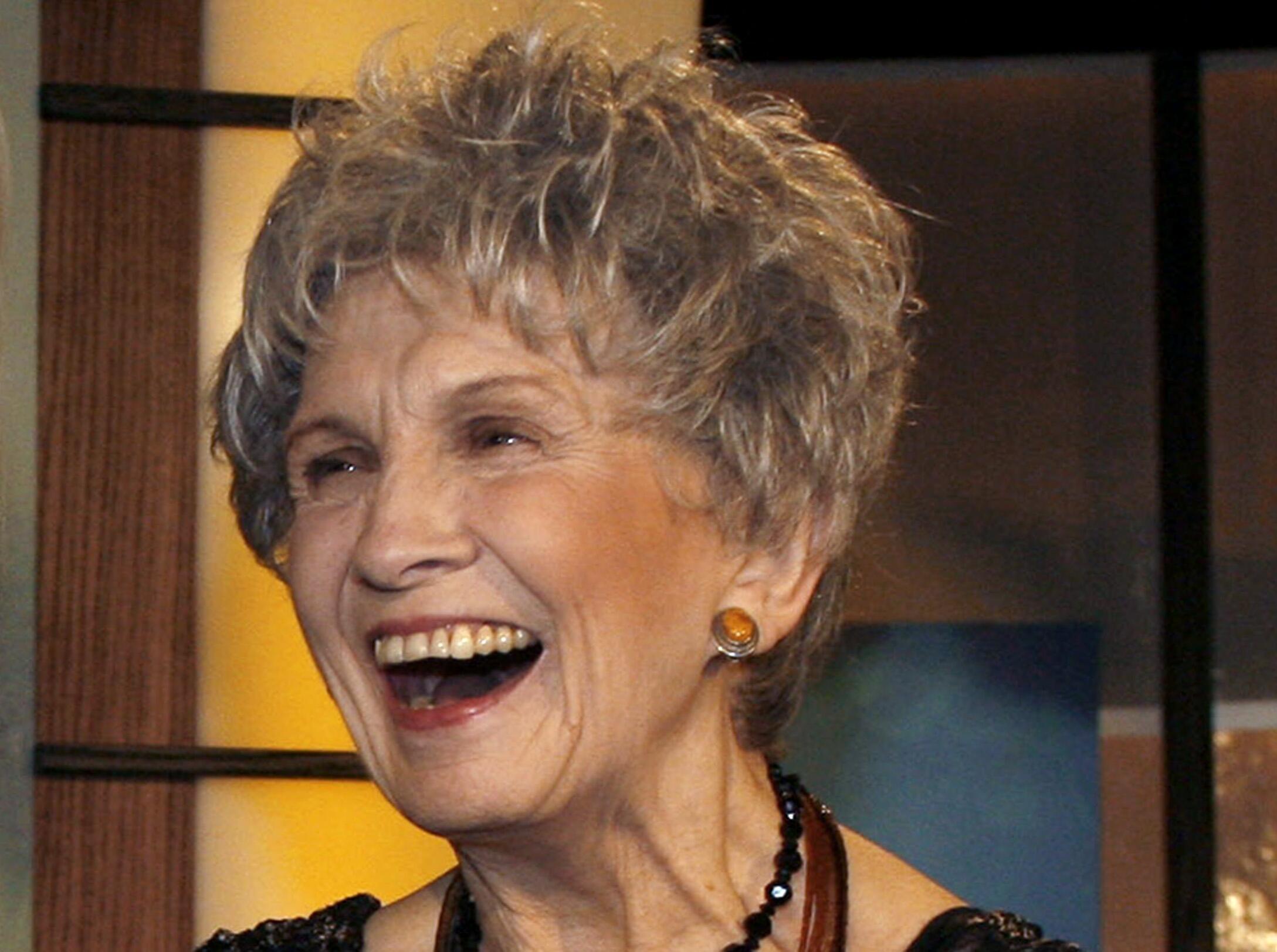 Nhà văn Canada Alice Munro giành giải Nobel Văn học 2013. Ảnh chụp trong một sự kiện tại Toronto, Canada 2007.