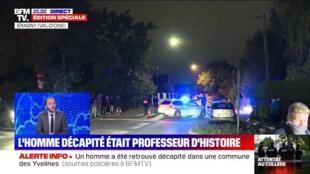 Professeur décapité à Conflans-Sainte-Honorine: le Président français Emmanuel Macron va se rendre sur place le 16-10-2020
