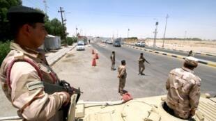 البرجسیه در نزدیکی بصره و محل استقرار شرکتها و ﺗﺄسیسات نفتی عراقی و خارجی از جمله شرکت آمریکایی اکسون موبیل