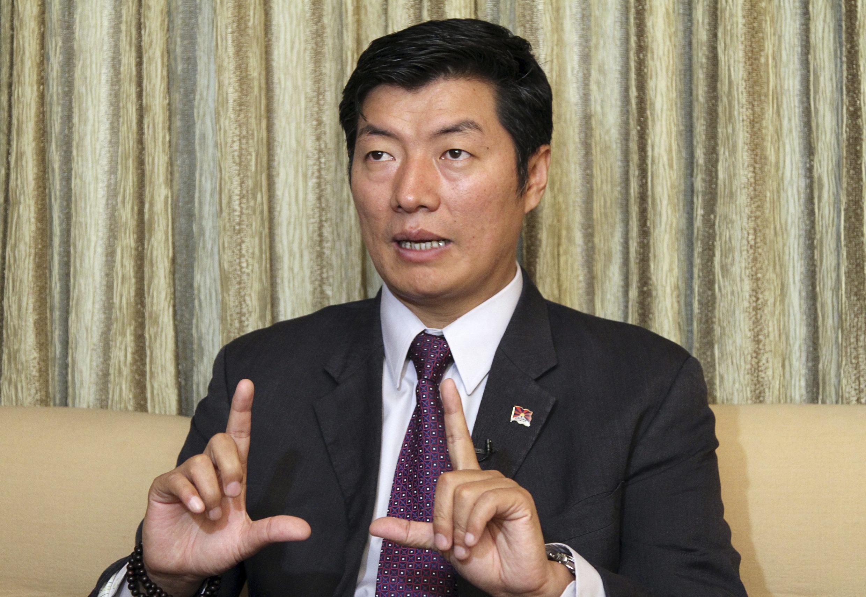 Thủ tướng chính phủ Tây Tạng lưu vong Lobsang Sangay - REUTERS