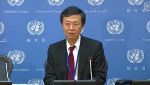 Norio Maruyama, porte-parole du ministère japonais des Affaires étrangères.