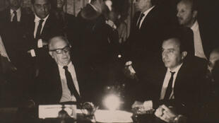 Reprodução de foto que integra a mostra Registros de uma Guerra Surda, do Arquivo Nacional, que traz documentos produzidos durante a ditadura militar, pelos órgãos de repressão e também pela imprensa.